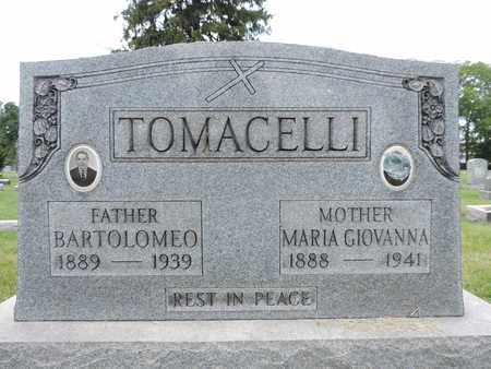 TOMACELLI, MARIA GIOVANNA - Franklin County, Ohio | MARIA GIOVANNA TOMACELLI - Ohio Gravestone Photos