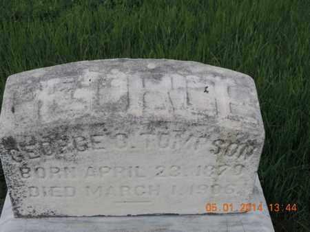 TOMPSON, GEORGE - Franklin County, Ohio | GEORGE TOMPSON - Ohio Gravestone Photos