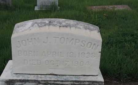 TOMPSON, JOHN J - Franklin County, Ohio | JOHN J TOMPSON - Ohio Gravestone Photos