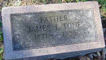 TONE, JAMES L - Franklin County, Ohio | JAMES L TONE - Ohio Gravestone Photos