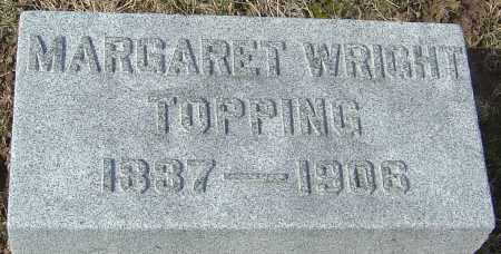 WRIGHT TOPPING, MARGARET - Franklin County, Ohio | MARGARET WRIGHT TOPPING - Ohio Gravestone Photos