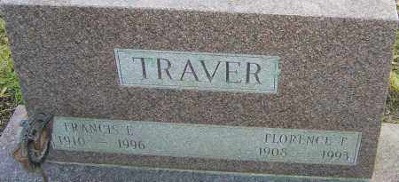 TRAVER, FLORENCE - Franklin County, Ohio | FLORENCE TRAVER - Ohio Gravestone Photos