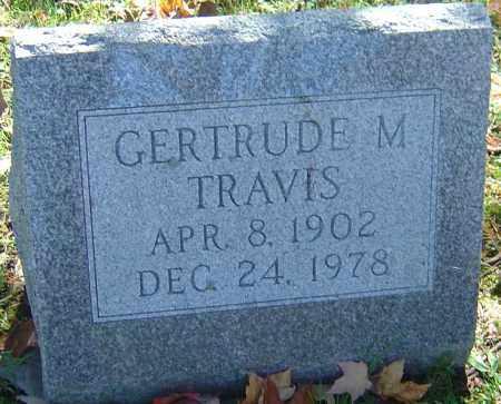 TRAVIS, GERTRUDE M - Franklin County, Ohio | GERTRUDE M TRAVIS - Ohio Gravestone Photos