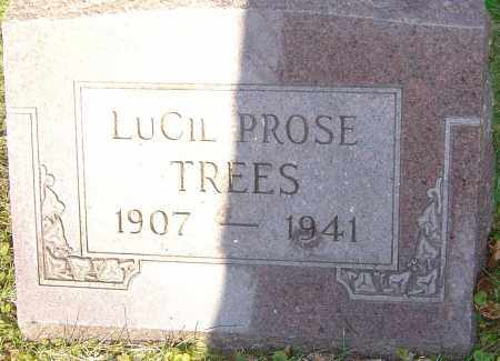 PROSE TREES, LUCIL - Franklin County, Ohio | LUCIL PROSE TREES - Ohio Gravestone Photos