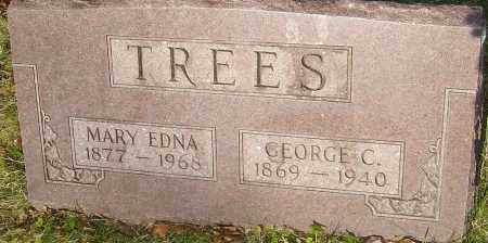 TREES, MARY EDNA - Franklin County, Ohio | MARY EDNA TREES - Ohio Gravestone Photos