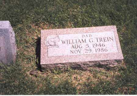 TREIN, WILLIAM G. - Franklin County, Ohio | WILLIAM G. TREIN - Ohio Gravestone Photos
