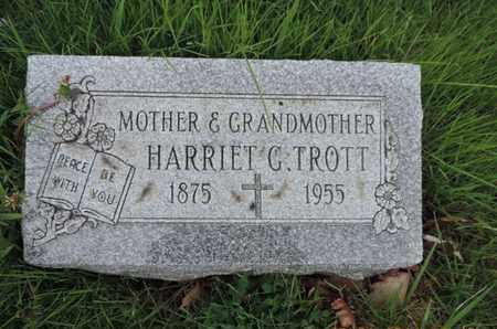 TROTT, HARRIET C - Franklin County, Ohio | HARRIET C TROTT - Ohio Gravestone Photos