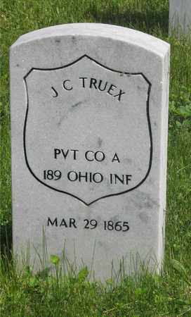 TRUEX, J. C. - Franklin County, Ohio | J. C. TRUEX - Ohio Gravestone Photos