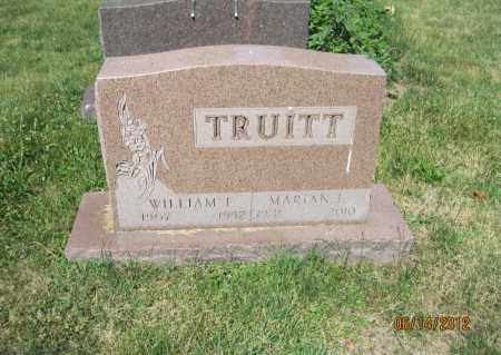 TRUITT, MARIAN E - Franklin County, Ohio | MARIAN E TRUITT - Ohio Gravestone Photos