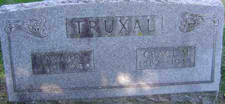 TRUXAL, GRACE M - Franklin County, Ohio | GRACE M TRUXAL - Ohio Gravestone Photos
