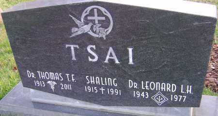 TSAI, LEONARD - Franklin County, Ohio | LEONARD TSAI - Ohio Gravestone Photos
