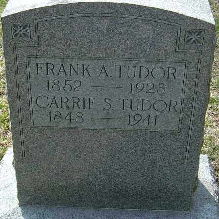 TUDOR, CARRIE - Franklin County, Ohio | CARRIE TUDOR - Ohio Gravestone Photos