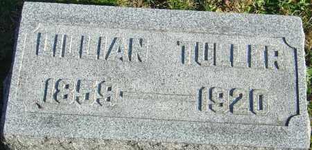 TULLER, LILLIAN - Franklin County, Ohio | LILLIAN TULLER - Ohio Gravestone Photos