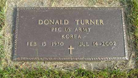 TURNER, DONALD - Franklin County, Ohio | DONALD TURNER - Ohio Gravestone Photos