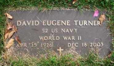 TURNER, DAVID EUGENE - Franklin County, Ohio | DAVID EUGENE TURNER - Ohio Gravestone Photos