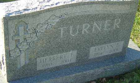 TURNER, HERBERT F - Franklin County, Ohio | HERBERT F TURNER - Ohio Gravestone Photos