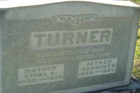 TURNER, ETHEL - Franklin County, Ohio | ETHEL TURNER - Ohio Gravestone Photos