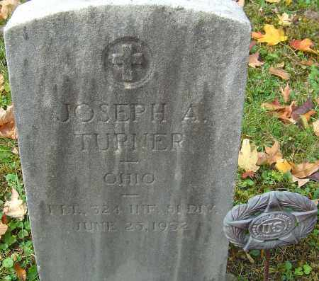 TURNER, JOSEPH A - Franklin County, Ohio | JOSEPH A TURNER - Ohio Gravestone Photos