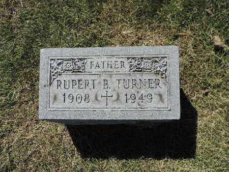 TURNER, RUPERT B. - Franklin County, Ohio | RUPERT B. TURNER - Ohio Gravestone Photos