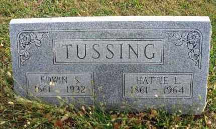 TUSSING, HATTIE L. - Franklin County, Ohio | HATTIE L. TUSSING - Ohio Gravestone Photos