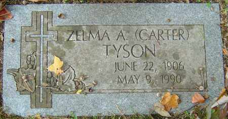 CARTER TYSON, ZELMA A - Franklin County, Ohio | ZELMA A CARTER TYSON - Ohio Gravestone Photos