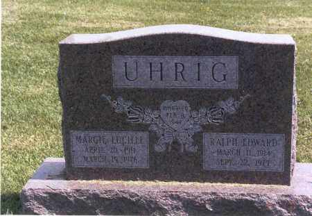 SCHLEPPI UHRIG, MARGIE - Franklin County, Ohio | MARGIE SCHLEPPI UHRIG - Ohio Gravestone Photos
