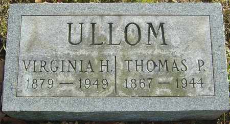 HECKLER ULLOM, MARY VIRGINIA - Franklin County, Ohio | MARY VIRGINIA HECKLER ULLOM - Ohio Gravestone Photos