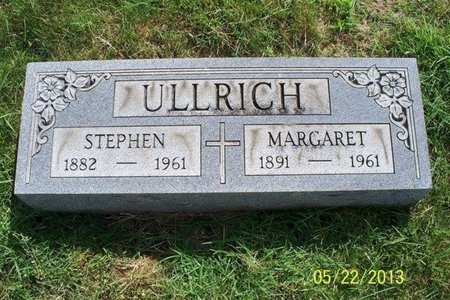 ULLRICH, MARGARET AGATHA - Franklin County, Ohio | MARGARET AGATHA ULLRICH - Ohio Gravestone Photos