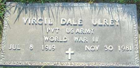 ULREY, VIRGIL DALE - Franklin County, Ohio | VIRGIL DALE ULREY - Ohio Gravestone Photos