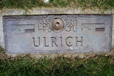 ORDING ULRICH, BERNADINE - Franklin County, Ohio | BERNADINE ORDING ULRICH - Ohio Gravestone Photos