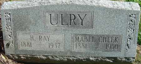 CHEEK ULRY, MABEL - Franklin County, Ohio | MABEL CHEEK ULRY - Ohio Gravestone Photos