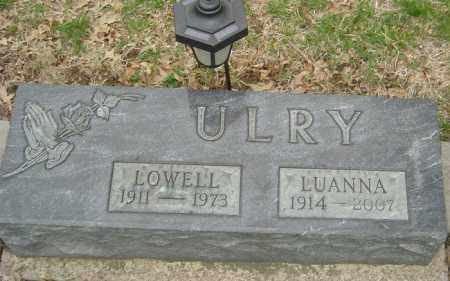 ULRY, LUANNA - Franklin County, Ohio | LUANNA ULRY - Ohio Gravestone Photos