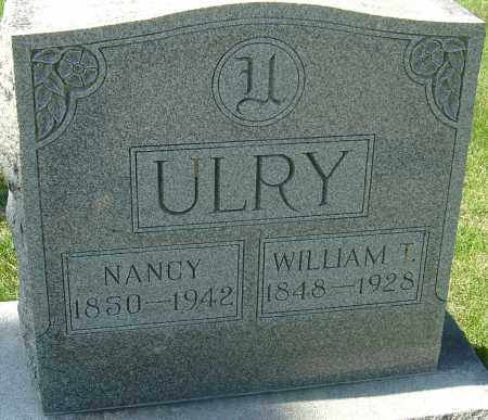 ULRY, NANCY - Franklin County, Ohio | NANCY ULRY - Ohio Gravestone Photos