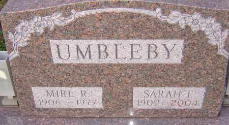 UMBLEBY, SARAH - Franklin County, Ohio | SARAH UMBLEBY - Ohio Gravestone Photos