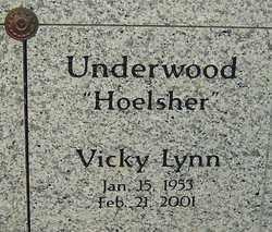 UNDERWOOD, VICKY LYNN - Franklin County, Ohio | VICKY LYNN UNDERWOOD - Ohio Gravestone Photos