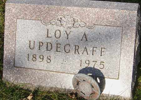 UPDEGRAFF, LOY - Franklin County, Ohio | LOY UPDEGRAFF - Ohio Gravestone Photos