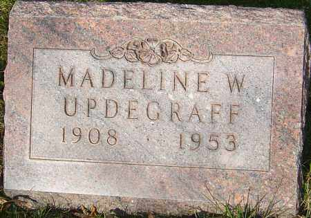 UPDEGRAFF, MADELINE WILMA - Franklin County, Ohio | MADELINE WILMA UPDEGRAFF - Ohio Gravestone Photos