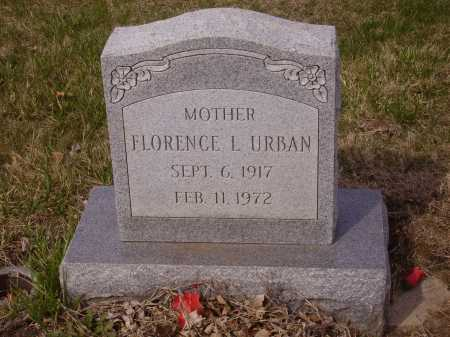 URBAN, FLORENCE L. - Franklin County, Ohio | FLORENCE L. URBAN - Ohio Gravestone Photos