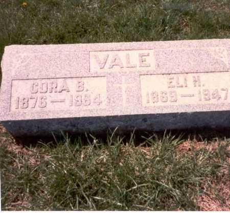 VALE, CORA B. - Franklin County, Ohio | CORA B. VALE - Ohio Gravestone Photos