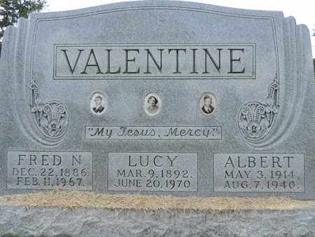 VALENTINE, LUCY - Franklin County, Ohio | LUCY VALENTINE - Ohio Gravestone Photos