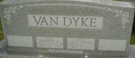 VAN DYKE, HERBERT A - Franklin County, Ohio | HERBERT A VAN DYKE - Ohio Gravestone Photos