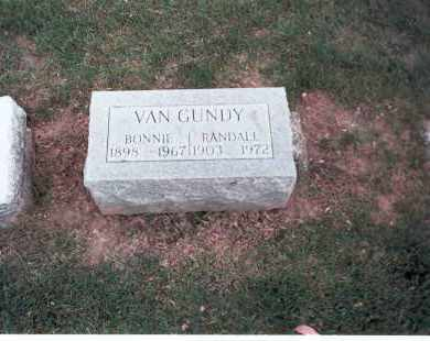 VAN GUNDY, RANDALL - Franklin County, Ohio | RANDALL VAN GUNDY - Ohio Gravestone Photos