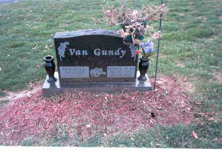 VAN GUNDY, RICHARD I. - Franklin County, Ohio | RICHARD I. VAN GUNDY - Ohio Gravestone Photos