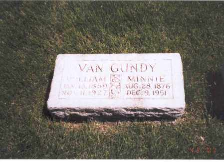 VAN GUNDY, MINNIE - Franklin County, Ohio | MINNIE VAN GUNDY - Ohio Gravestone Photos