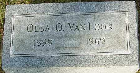 VAN LOON, OLGA Q - Franklin County, Ohio | OLGA Q VAN LOON - Ohio Gravestone Photos