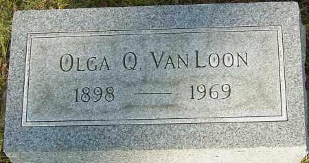 VAN LOON, OLGA Q - Franklin County, Ohio | OLGA Q VAN LOON - Ohio Gravestone Photos