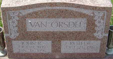 VAN ORSDEL, JOHN R - Franklin County, Ohio | JOHN R VAN ORSDEL - Ohio Gravestone Photos