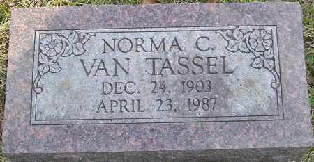 VAN TASSEL, NORMA C - Franklin County, Ohio | NORMA C VAN TASSEL - Ohio Gravestone Photos