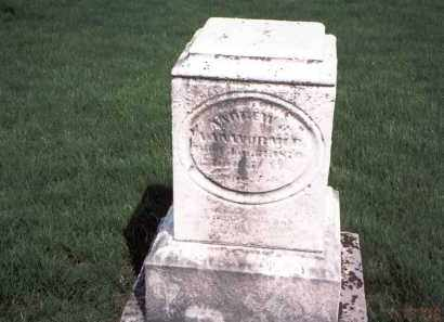 VAN WORMER, ANDREW - Franklin County, Ohio | ANDREW VAN WORMER - Ohio Gravestone Photos