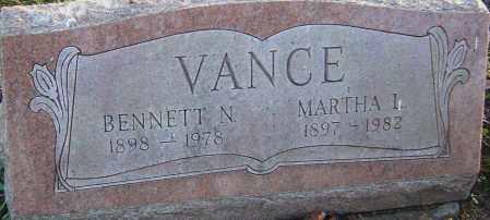 VANCE, BENNETT - Franklin County, Ohio | BENNETT VANCE - Ohio Gravestone Photos